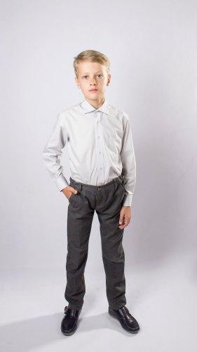 Сорочка для мальчиков младшей школьной группы Озорник 535082И