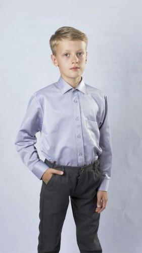Сорочка для мальчиков младшей школьной группы Озорник 537082И