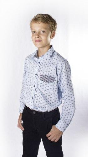 Сорочка для мальчиков младшей школьной группы Озорник 943015И