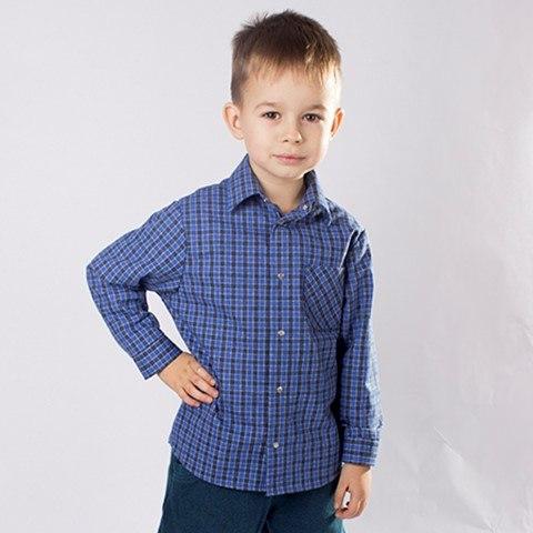Сорочка для мальчиков дошкольной группы Озорник 450024И