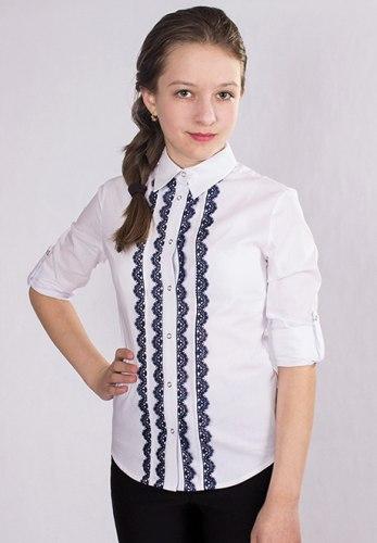 Блузка для девочек старшей школьной группы Модница 797011И