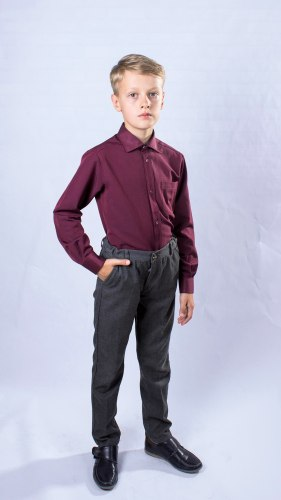 Сорочка для мальчиков старшей школьной группы Озорник 534022И
