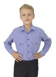 Сорочка для мальчиков младшей школьной группы Озорник 604013И