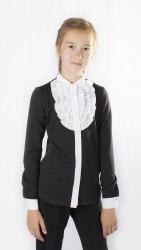Блузка для девочек младшей школьной группы Модница 044012Т