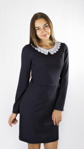Платье для девочек старшей школьной группы Модница 39012
