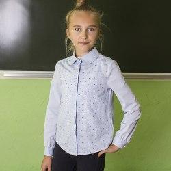 Блузка для девочек младшей школьной группы Надэкс 32012