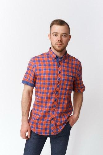 Сорочка верхняя мужская Nadex Men's Shirts Collection 898014