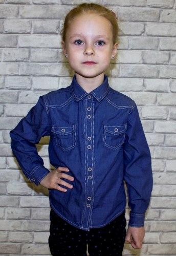 Блузка для девочек дошкольной группы Модница 664012