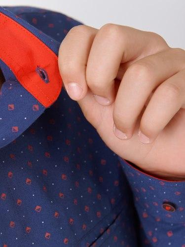Сорочка для мальчиков подростковой группы Озорник 028015И