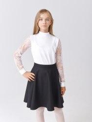 Блузка для девочек младшей школьной группы Модница 257011Т