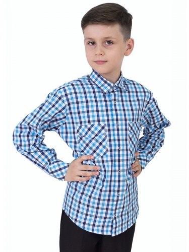 Сорочка для мальчиков младшей школьной группы Озорник 571014И