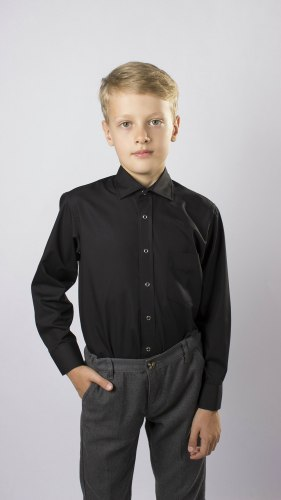 Сорочка для мальчиков младшей школьной группы Озорник 535012И
