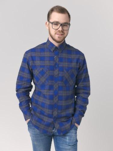 Сорочка верхняя мужская Nadex Men's Shirts Collection 295024И