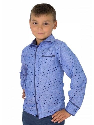 Сорочка для мальчиков младшей школьной группы Озорник 557015И