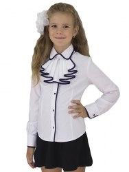 Блузка для девочек младшей школьной группы Модница 590012И