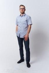 Сорочка верхняя мужская Nadex Men's Shirts Collection 149015И