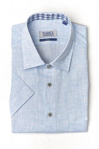 Сорочка верхняя мужская Nadex Men's Shirts Collection 403012