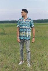 Сорочка верхняя мужская Nadex Men's Shirts Collection 502015