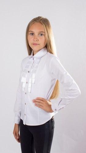 Блузка для девочек младшей школьной группы Модница 551012И