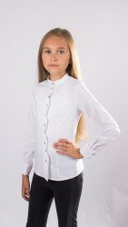 Блузка для девочек младшей школьной группы Модница 591012И