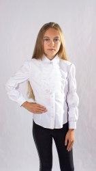 Блузка для девочек младшей школьной группы Модница 588012И