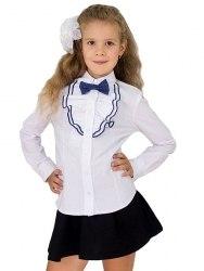 Блузка для девочек младшей школьной группы Модница 410012И