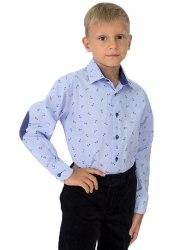 Сорочка для мальчиков младшей школьной группы Озорник 602015И