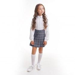 Юбка-шорты для девочек младшей школьной группы Модница 425014И