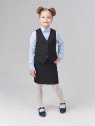 Жилет для девочек младшей школьной группы Модница 001025И