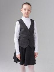 Жилет для девочек старшей школьной группы Модница 012014И