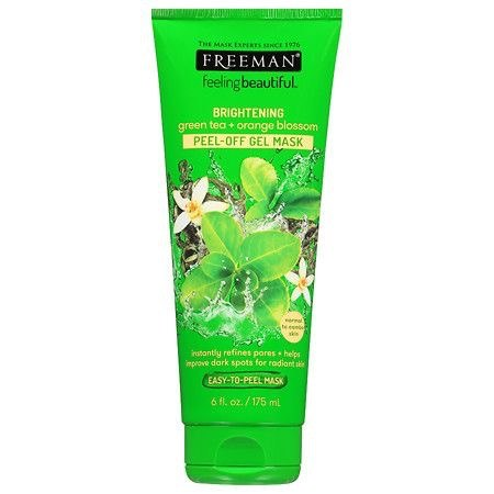 Freeman Feeling Beautiful Green Tea + Orange Blossom Peel-Off Gel Mask