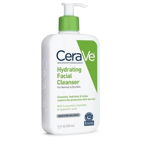 CeraVe Hydrating Facial Cleanser ( Увлажняющий гель для нормальной и сухой кожи)