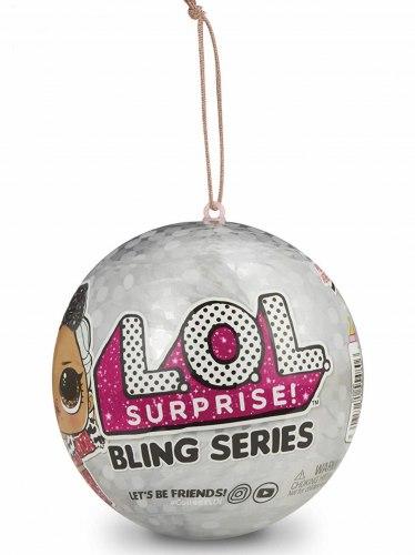 LOL Surprise Bling Series with 7 Surprises, Multicolor 4 ДЕКОДЕР
