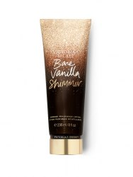 Victoria's Secret Holiday Shimmer Fragrance Lotion Bare Vanilla