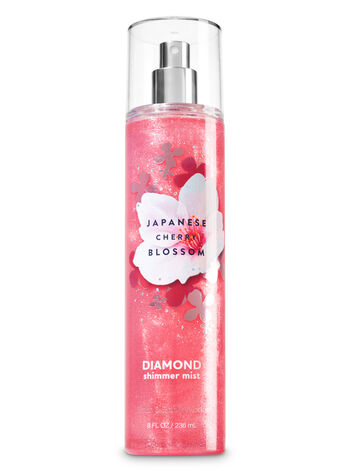 Bath and Body Works JAPANESE CHERRY BLOSSOM DIAMOND SHIMMER MIST