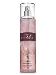 Bath and Body Works A THOUSAND WISHES DIAMOND SHIMMER MIST