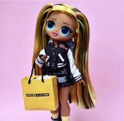 Кукла LOL Surprise OMG alt Grrrl Fashion Doll с 20 сюрпризами