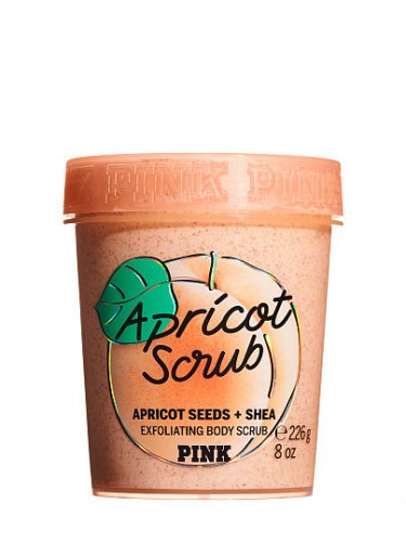 Victoria's Secret Apricot Exfoliating Body Scrub with Shea