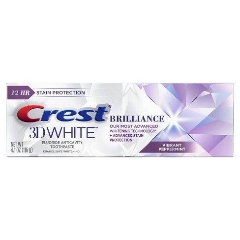 Crest 3D White Brilliance Vibrant Peppermint