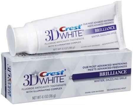 Creat 3D White Brilliance Toothpaste
