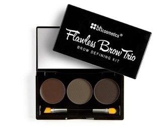 Тени и воск для бровей BH Cosmetics Flawless Brow Trio