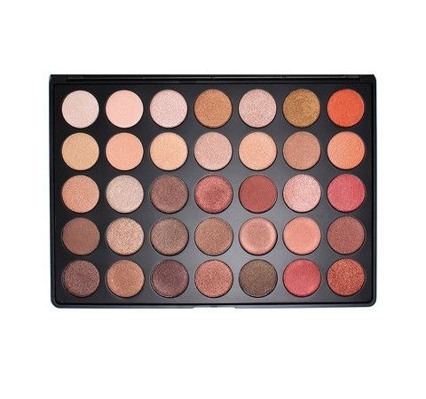 Morphe 35OS - 35 COLOR SHIMMER NATURE GLOW EYESHADOW PALETTE *NEW*