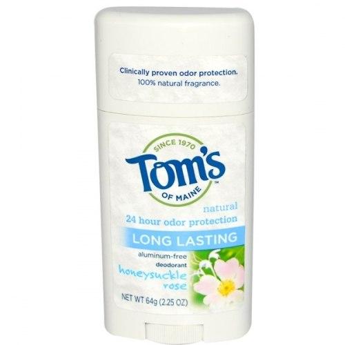 Tom's of Maine Дезодорант без алюминия длительного действия, 2,25 унции (64 г)
