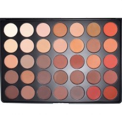Morphe 350M- 35 COLOR MATTE NATURE GLOW EYESHADOW PALETTE