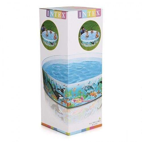 Детский каркасный бассейн Intex Ocean Reef Snapset 183x38 (58461)