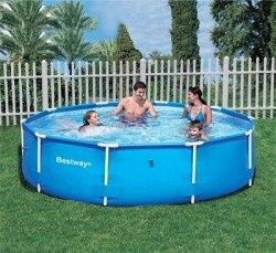 Каркасный бассейн Bestway Steel Pro Frame 244x61 (56045)