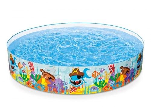 Детский каркасный бассейн Intex Ocean Reef Snapset 244х46 (56453)