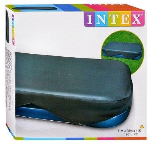 Тент-чехол для надувного прямоугольного бассейна 305х183 и 262х175 см Intex (58412)