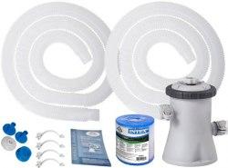 Картриджный фильтр-насос Intex Krystal Clear 1250 л/ч (28602)