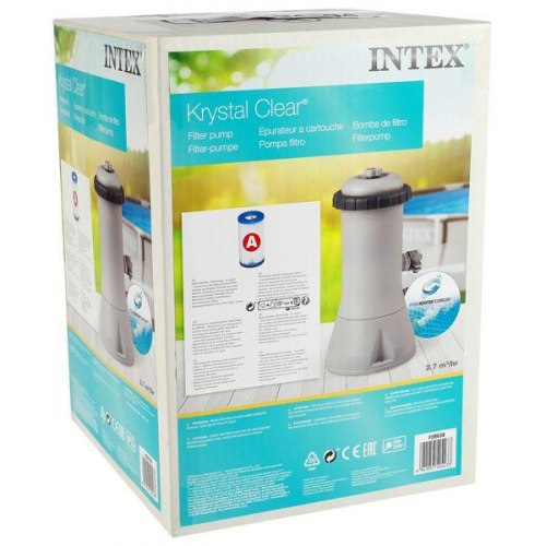 Картриджный фильтр-насос Intex Krystal Clear 3785 л/ч (28638)